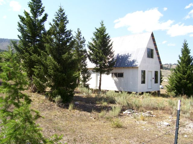 Nice Unfinished Cabin In Gilmore, Idaho
