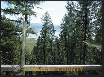 2.62 Acre Cabin Lot on Cascade Lake, ID – Stream on Property