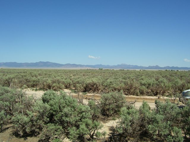 Large 5 Acre Property in Quiet Valley and Just 2.5 Hours North of Las Vegas
