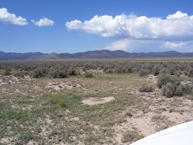 Great Lot Near the Mountains. 2.5 Hours North Of Las Vegas