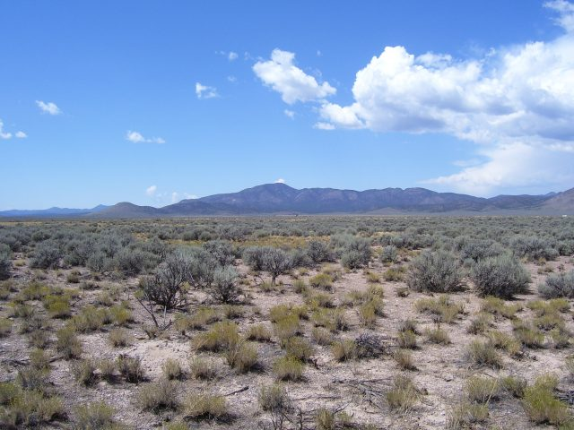 Mountain Views From Your Own 2.27 Acres 2.5 Hours North of Las Vegas